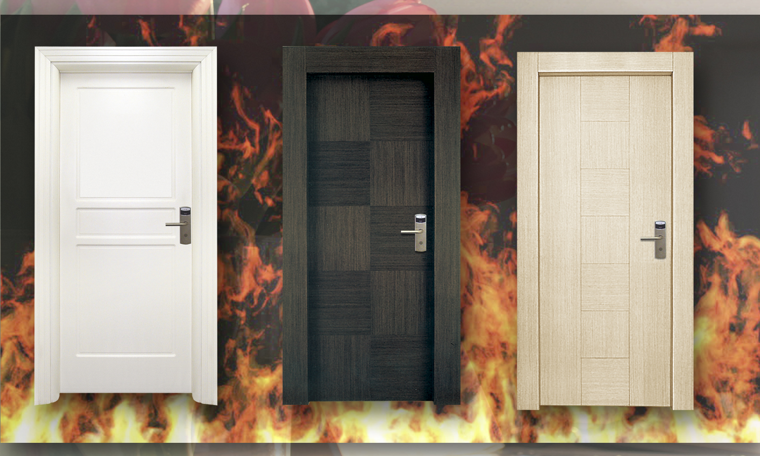 NEW - Fireproof doors 90 min